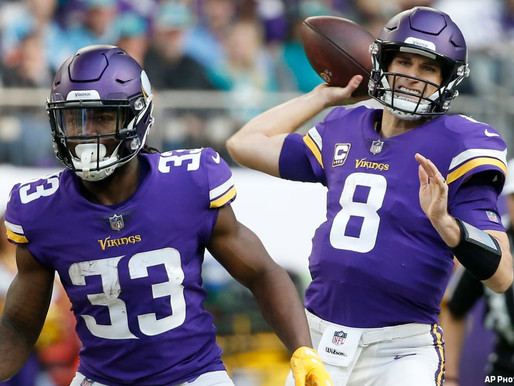 Pair of Vikings Win Awards in the NFC