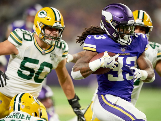 Vikings Week Eight Game vs. Packers is Must Win