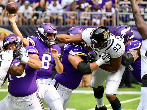 Vikings Win in Overtime as Playoff Push Surges, Beat Jaguars 27-24