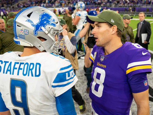 Vikings Looking for Second Straight Win as They Host the Detroit Lions