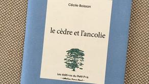 « le cèdre et l'ancolie », une lecture de Stéphan Causse