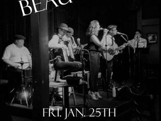 BEAUGOSS live with guitar virtuoso Richard Newman on Jan 25th!!