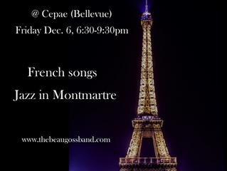 Music @ Cepae  Fri. Dec. 6th 6:30pm