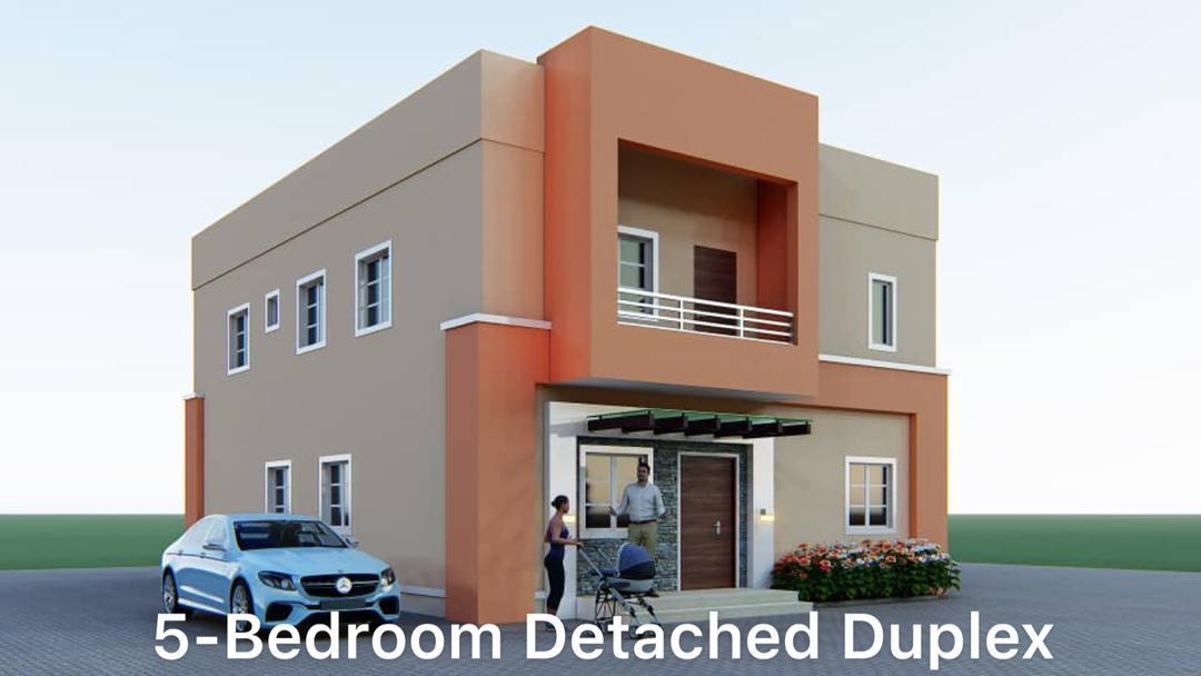 5-BEDROOM DETACHED DUPLEX