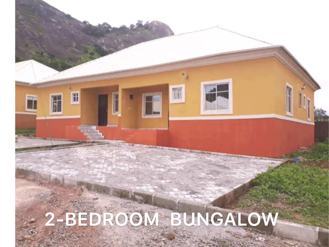 OCCUPIED 2-BEDROOM SEMI-DETACHED BUNGALOW