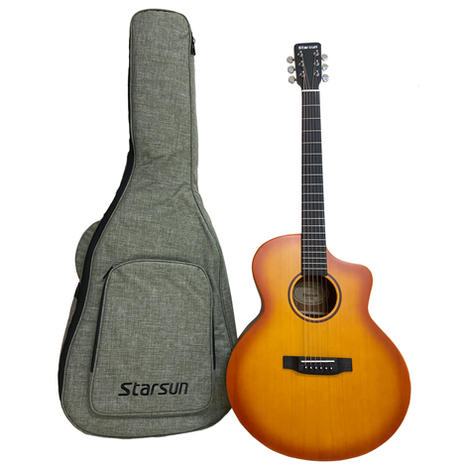 Starsun S1-SJF 雲杉面單版木吉他