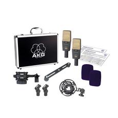 AKG C414 XLII Stereo Set 傳奇經典電容式麥克風(2支)
