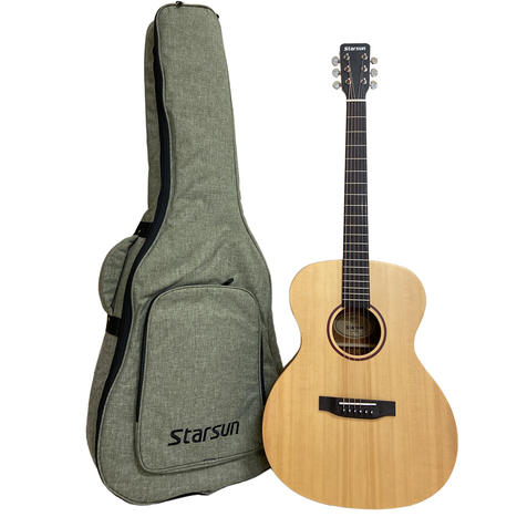 Starsun S1-OM 雲杉面單版木吉他