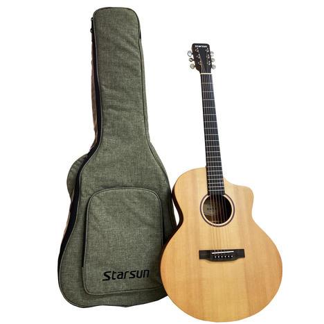 Starsun S1-JF 雲杉面單版木吉他