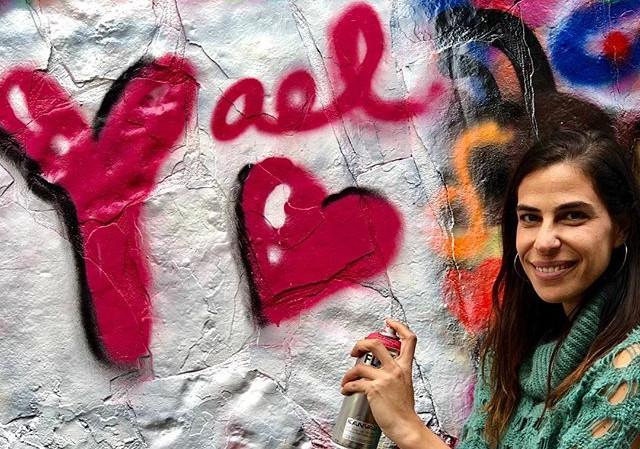 Tag yourself! #makeyourmark #streetart #