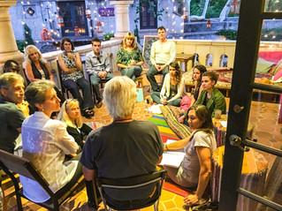storytelling event at chai spot sedona.j