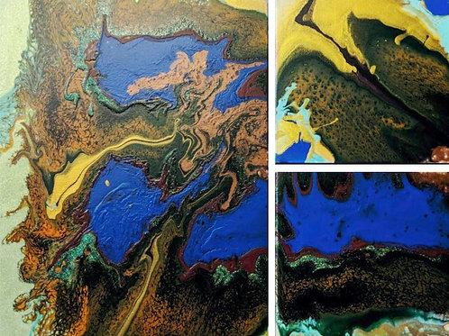 Meander Lake Canyons