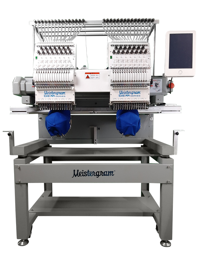 GEM 1502TC 2 Head Embroidery Machine