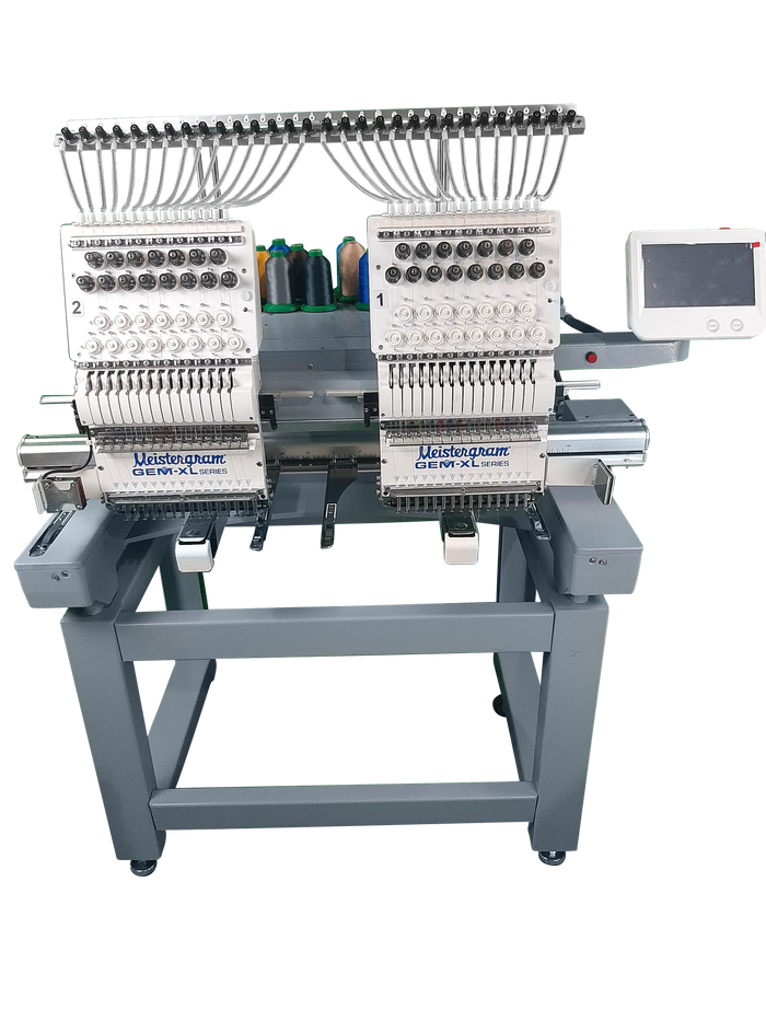 GEM XL 1502 Commercial Embroidery Machi