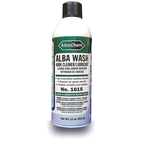 Alba-Chem Hook Wash Lurbricant- 1 shot spray