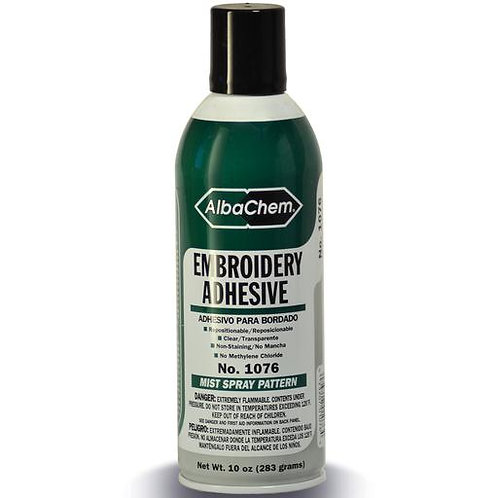 Embroidery Mist Type Spray Adhesive