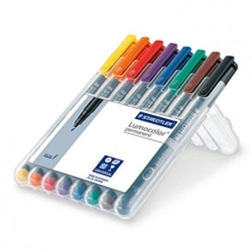 Lumocolor Markers (8 Colors)