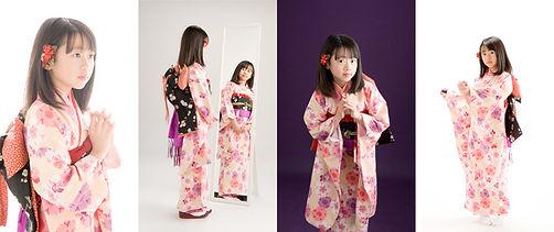 和装 着物10歳誕生記念 新潟市 二分の一成人式 フォトリエ山岡