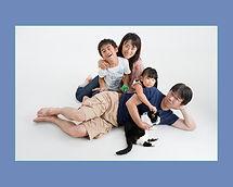 新潟市、家族写真、フォトリエ山岡、中央区、鳥屋野潟