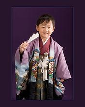 七五三五歳 羽織袴 新潟市 写真館