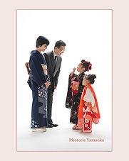 七五三家族写真 新潟市 写真スタジオ