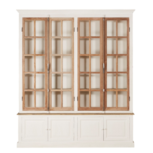 Antique French Bakery Cabinet - 4 Door