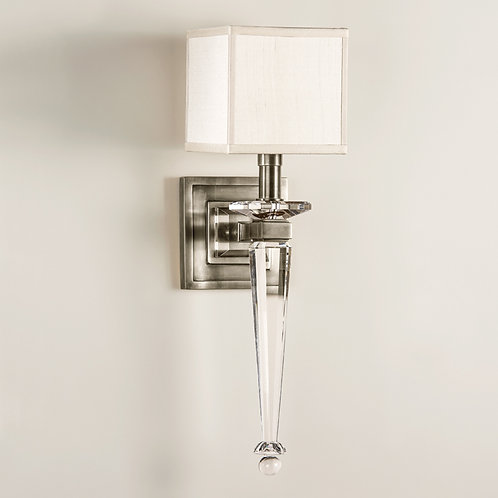 Gabriel Nickel Sconce