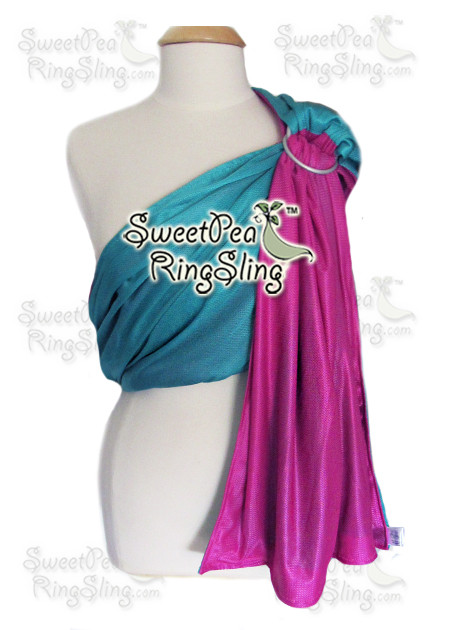 Turquoise/Pink Water Sling