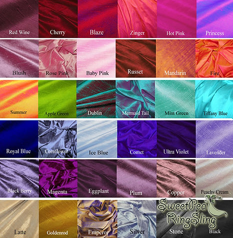 Silk Swatches