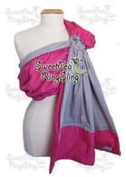 Bright Pink/Gray w Added Pocket