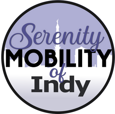 Serenity Mobility of Indy Logo Design