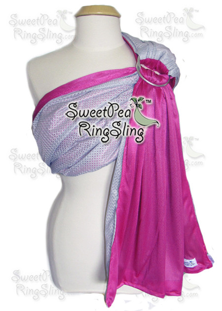 Silver/Pink Water Sling