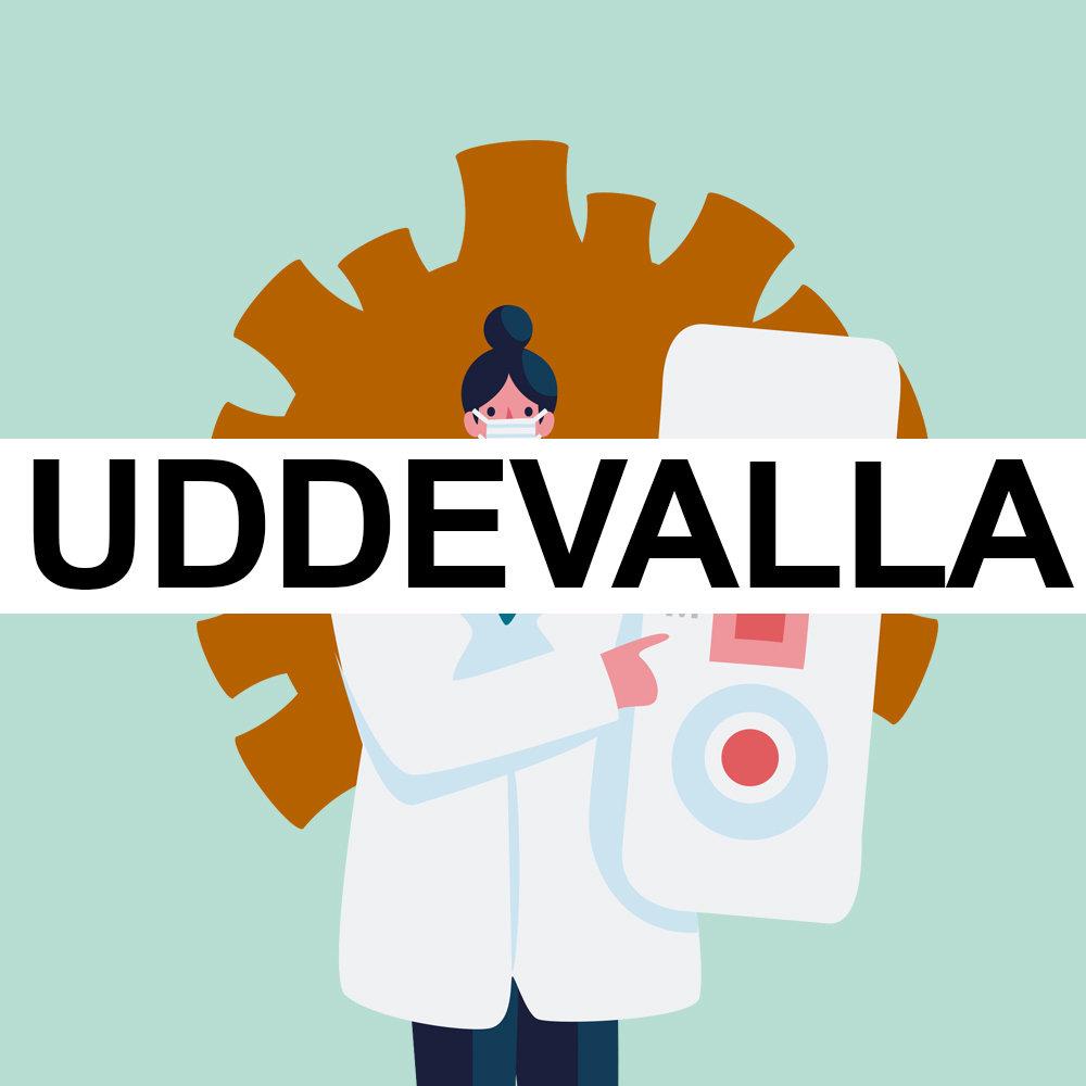 UDDEVALLA -  ANTIGEN-TEST MED RESEINTYG