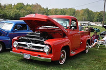 Trucks at Car Show event
