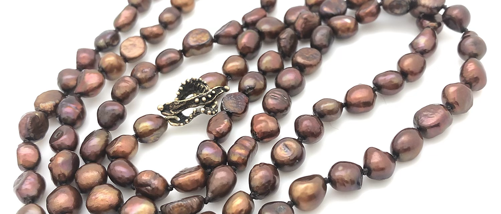 Yummy chocolate pearls