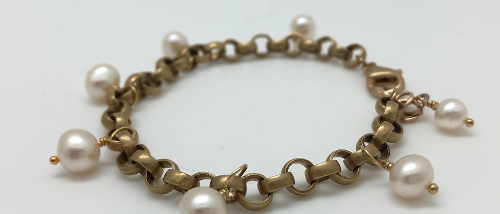 Brass and Pearls