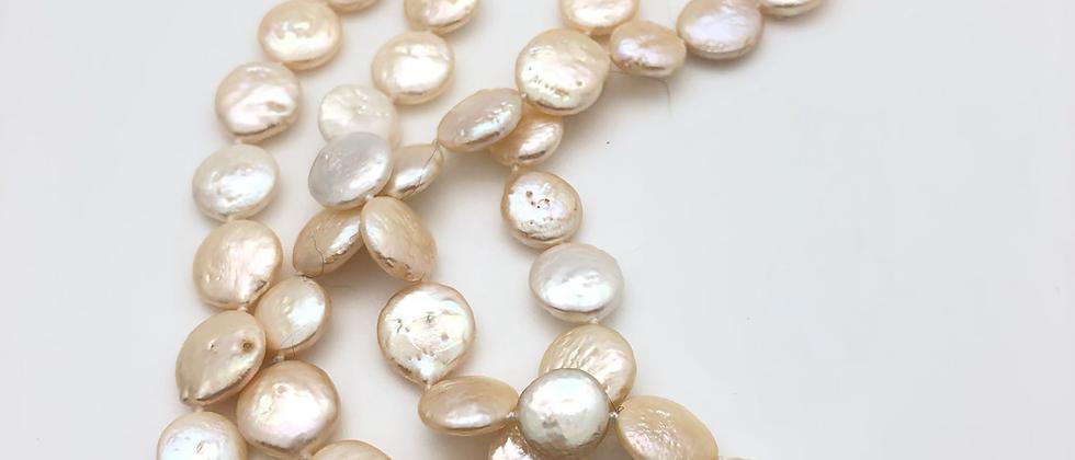 Peach Coin Pearls