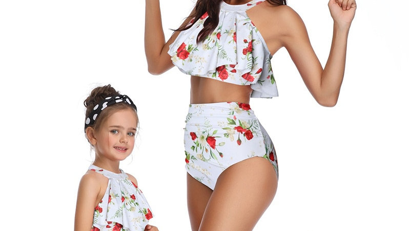 Mother Daughter Swimsuit