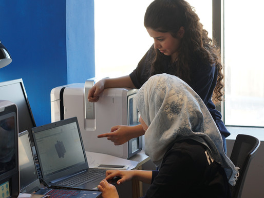 Iraq's only female-led makerspace