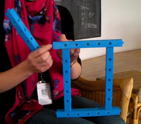 Learning tool designed and used in Nepal by Field Ready's Abi Bush