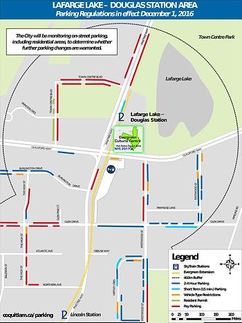 ParkingLafargeLake-Douglas-Evergreen