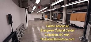 Salsa Lessons at Evergreen Cultural Centre Coquitlam, Studio A
