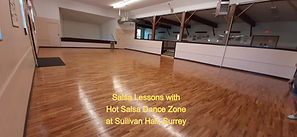 Salsa Lessons at Sullivan Hall, Surrey