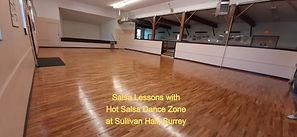 Salsa Lessons at Sullivan Hall, Surrey