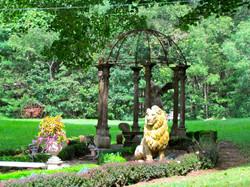Detail of Lion Garden