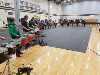 Drumline Clinic with Impact Percussion