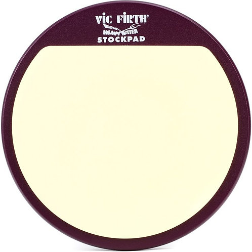"""Vic Firth 12"""" Heavy Hitter Stock Pad Practice Pad"""
