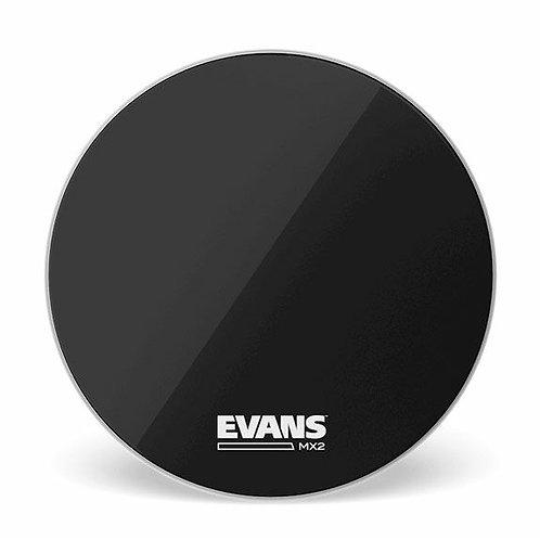 """Evans Drum Heads: 26"""" MX2 Black Bass Drum Head"""