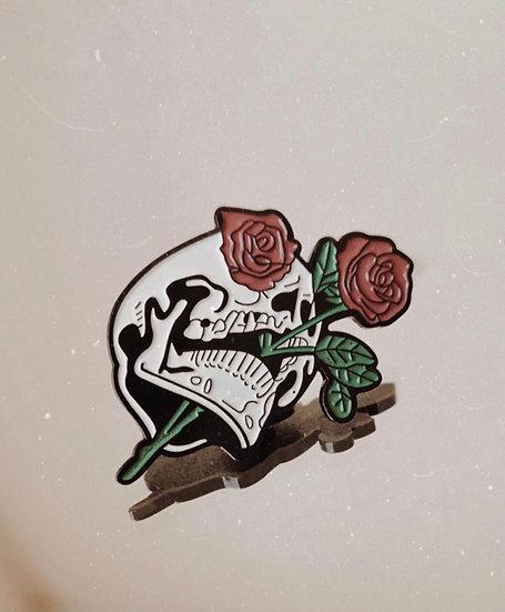 Les Rose Des Morts Enamel Pin