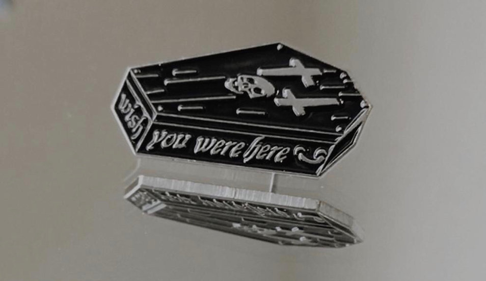 Wish You Were Here Enamel Pin